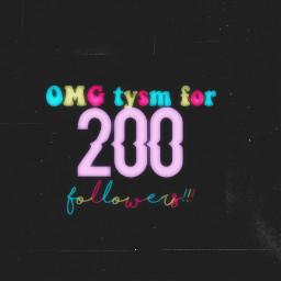 200followers tysm freetoedit