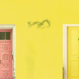 pastel pastelcolors wall doors freetoedit