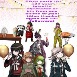 danganronpa anime teruteru teruteruhanamura party 100followers uwu freetoedit