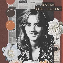music rogertaylor queenband brownaesthetic roses oneandthreeseventhssugars sugar freetoedit