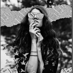 picsartchallenge blackandwhite sunglasses paper newspaper art papercranes rippedpaper rippedpaperaesthetic aesthetic white black blackaesthetic whiteaesthetic blackandwhitephoto blackandwhiteaesthetic stickerremixchallenge freetoedit srcpapercranes