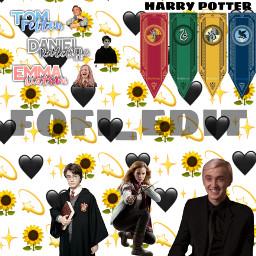 harrypotter emmawatson dracomalfoy hermionegranger tomfelton danielradcliffe freetoedit