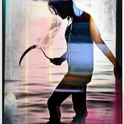 unsplash challenge picsartchallebge stuck confusion destraught insane mentalhealth vertigo spinnung jumping laughter joy rainbow water demin thenefis freetoedit srcpapercranes papercranes