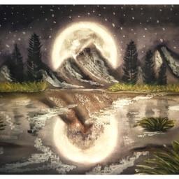 oilpainting oilpastel art painting