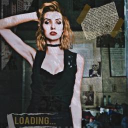 remix vintage grunge marilynmonroe aesthetic freetoedit