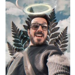 angel maz glasses sky bluesky freetoedit