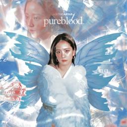 jisoi kim kimjisoo blackpink fantasy angelic kpopedit blue red kpop angel creature aesthetic fairy fairywings wings girl kpopidol korean singer     uksugar singer