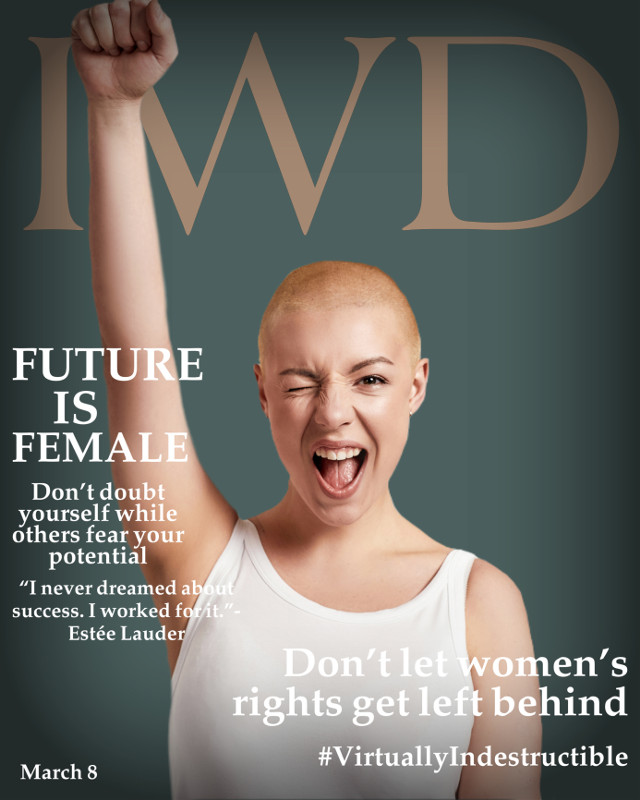 #freetoedit #iwd #internationalwomensday #womensday #women #powerful #magazine #magazinecover #virtuallyindestructible #cover