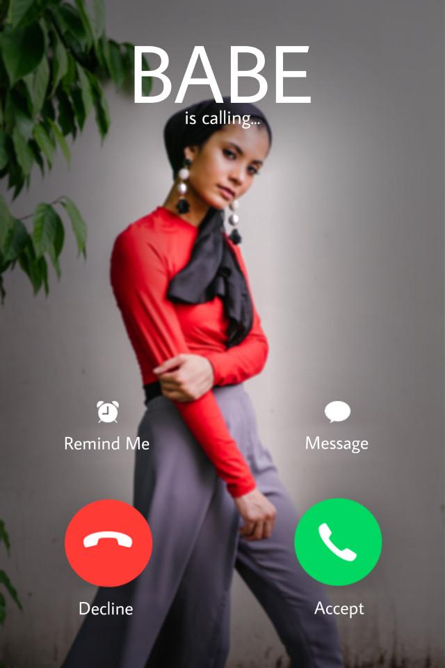#freetoedit #telephone #screen #homescreen #call #callscreener #iscalling #decline #accept #aesthetic