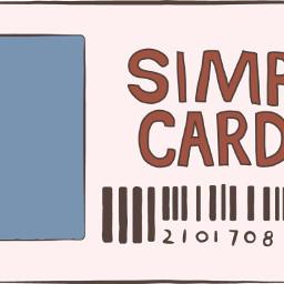 freetoedit simpcard