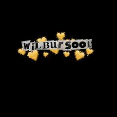 wilbursoot wilbursootsticker wilbur wilburedit yellow heart dream dreamsmp dreamteam heartcrown freetoedit