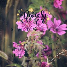 calendar flower marchcalendar march srcmarchcalendar2021 marchcalendar2021 freetoedit