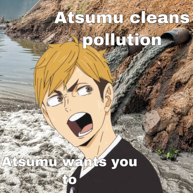 This is a joke lol  It's for school so :)   #atsumu
