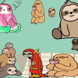 sloth freetoedit
