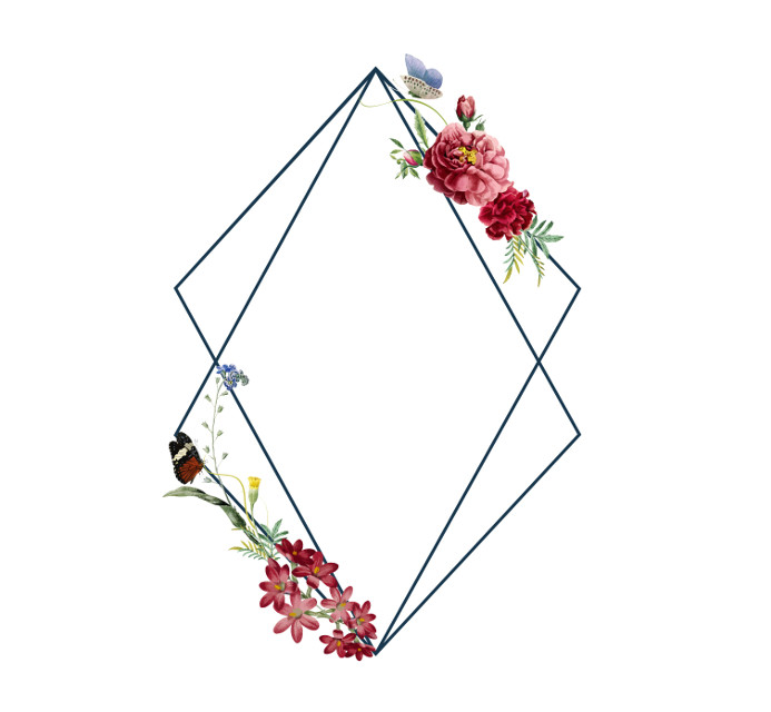 #template #blank #blanktemplate#shabbychic #triangleframe #goldframe #white #flowers #floral #frame #andreamadison