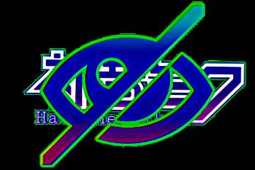 freetoedit eyeclose hdr logo sticker hatsunemiku textstickers