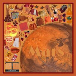 mars aesthetic planets freetoedit
