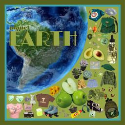 planets earth moodboards freetoedit