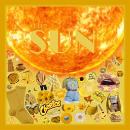sun star not a planet moodboard niche freetoedit