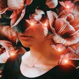 madewithpicsart picsartedit picsarteffects imagination surreal flowers creative woman love