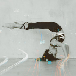 dancer contortion headstand flexible dancecontortion photography cool city freetoedit
