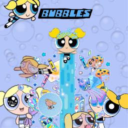freetoedit bubbles powerpuffgirls