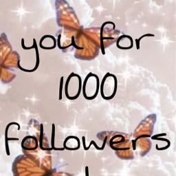 thankyou 1000followers freetoedit