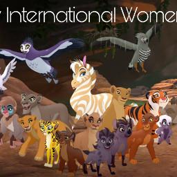 freetoedit lionguard disney lionking happyinternationalwomensday