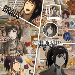 shingekinokyojin attackontitan attackontitansasha 🥔🥔🍩🍪🐶 sashabraus freetoedit