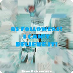 followers thankyousomuch 85
