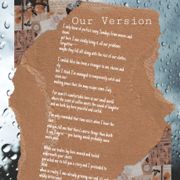 poetry rainyday rain art romantic romance freetoedit
