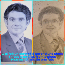 draw art style portrait realiste