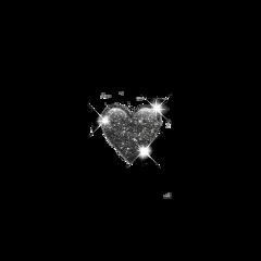 sparkle black emoji aesthetic glitter freetoedit