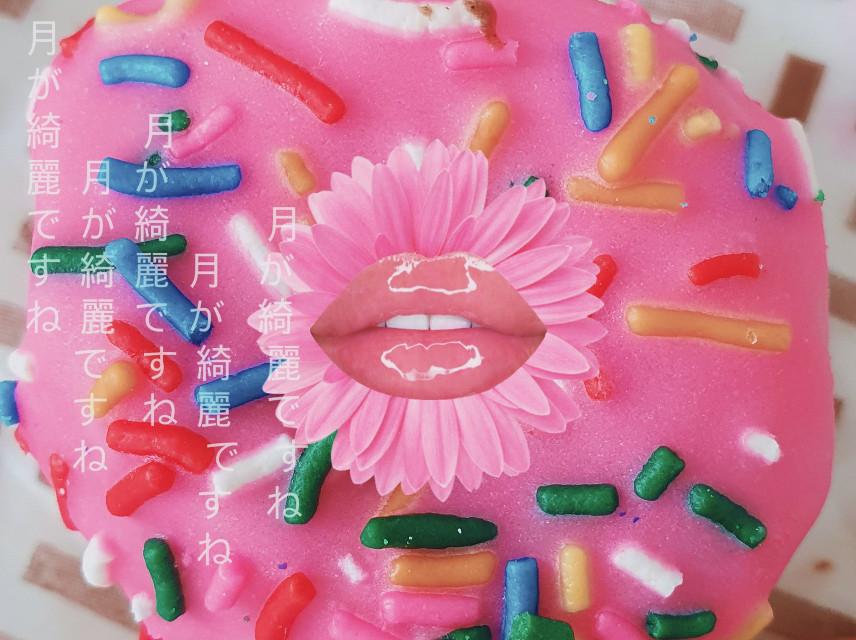 @claudiamaraimagem #donut #kiss #mouth
