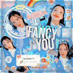 nayeon twice complex kpop blue