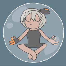 bea pokemonswordandshield beapokemon bubble bubbles bubbled bubbletrap meditation