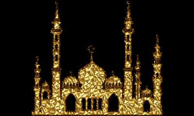 ramadan ramadhan mosque golden freetoedit