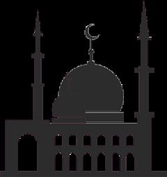 ramadan ramadhan mosque silhouette freetoedit