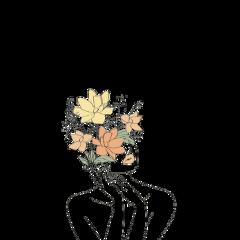 girl flower flowerphotography freetoedit