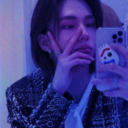 hyunjin hyunjinstraykids cyber cybercore cybery2k cyberedit azul. aesthetic skz edit straykids cyberweb kpop cyberkpop freetoedit azul