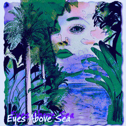 freetoedit eyesabovesea inspiredbypao tropicalparadise blueseas abstractportrait beachyday remixedbyme