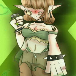 alt fairycore art ibispaintx doodle byronnie e dontletthisflop lol picsart freetoremix freetoedit