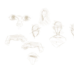 sketch sketches bodyparts human procreate art drawing yellow