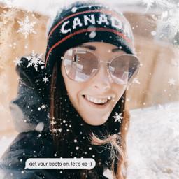 winter snow snowflakes fantasytraveldestination freetoedit