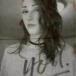 portrait you blackandwhite grungeaesthetic grunge replay photography music people art freetoedit