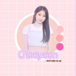 chaeyeon leechaeyeon izone sixteen produce48     @k-pop_memes freetoedit produce48