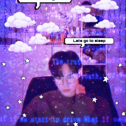doyoung kimdoyoung doyoungkim nctdoyoung nct nct127 nctu purple violet lilac clouds text glitch retro film stars night drip kpop kpopedit nctedit freetoedit