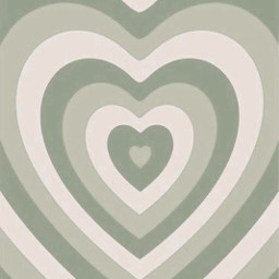heart love aesthetic green sage