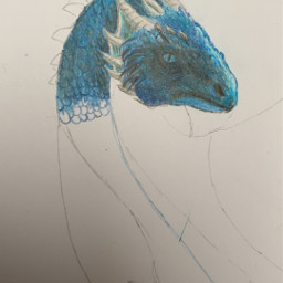freetoedit picture drawing dragon