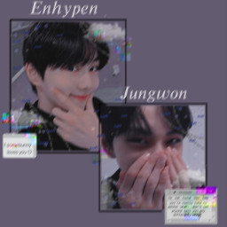 enhypen jungwon kpop editrequest freetoedit